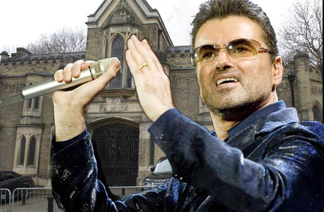 George Michael Dead Grave Cemetery First Seen Pics