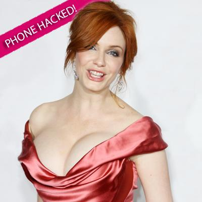 //christina hendricks hacked