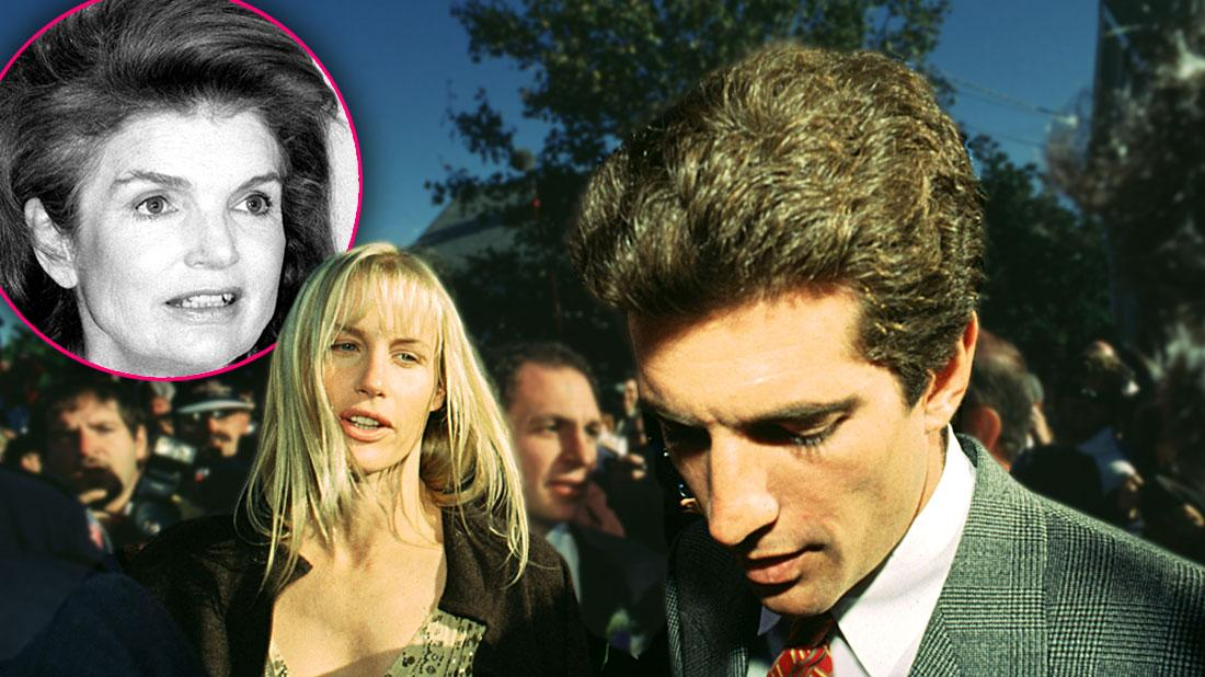 Daryl Hannah Forced Late Ex JFK Jr. To Ditch Dying Mom For Dog's Funeral