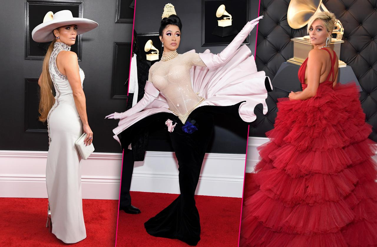 Grammys Wackiest Dresses Red Carpet Stars
