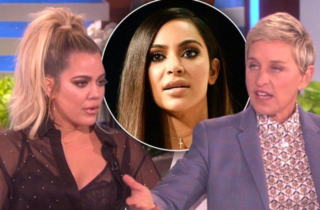//khloe kardashian ellen kim kardashian gunpoint robbery pp