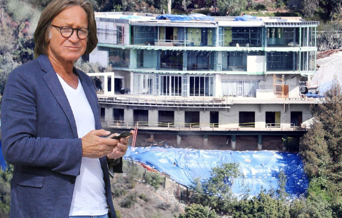 Mohamed Hadid Bel Air Mansion Damaged Dump Amid Legal Battle