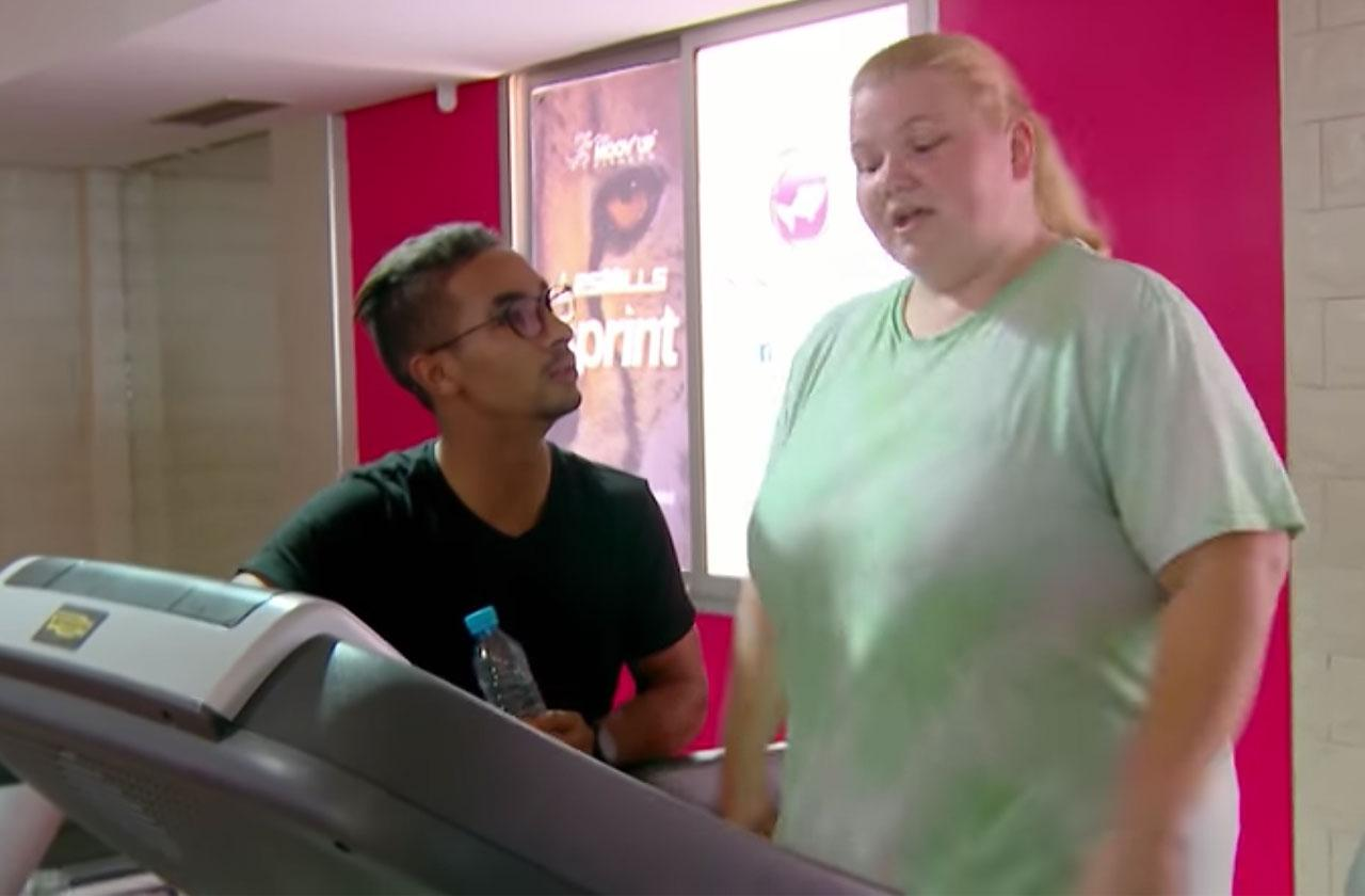 nicole nafziger working out dieting weight loss 90 day fiance
