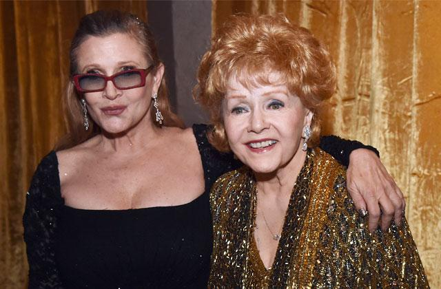 //carrie fisher heart attack mom debbie reynolds pp