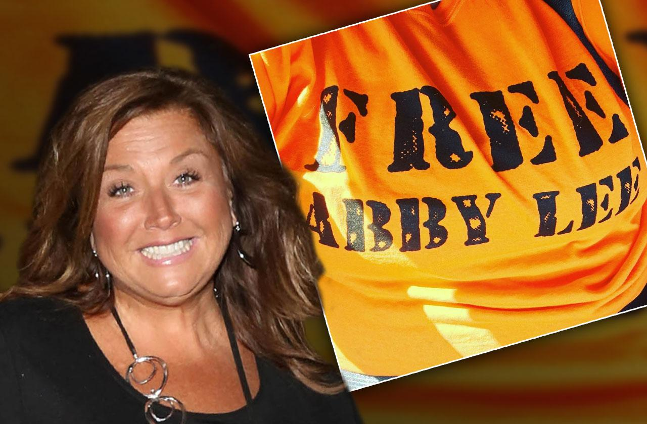 abby lee miller selling shirts from prison dance moms