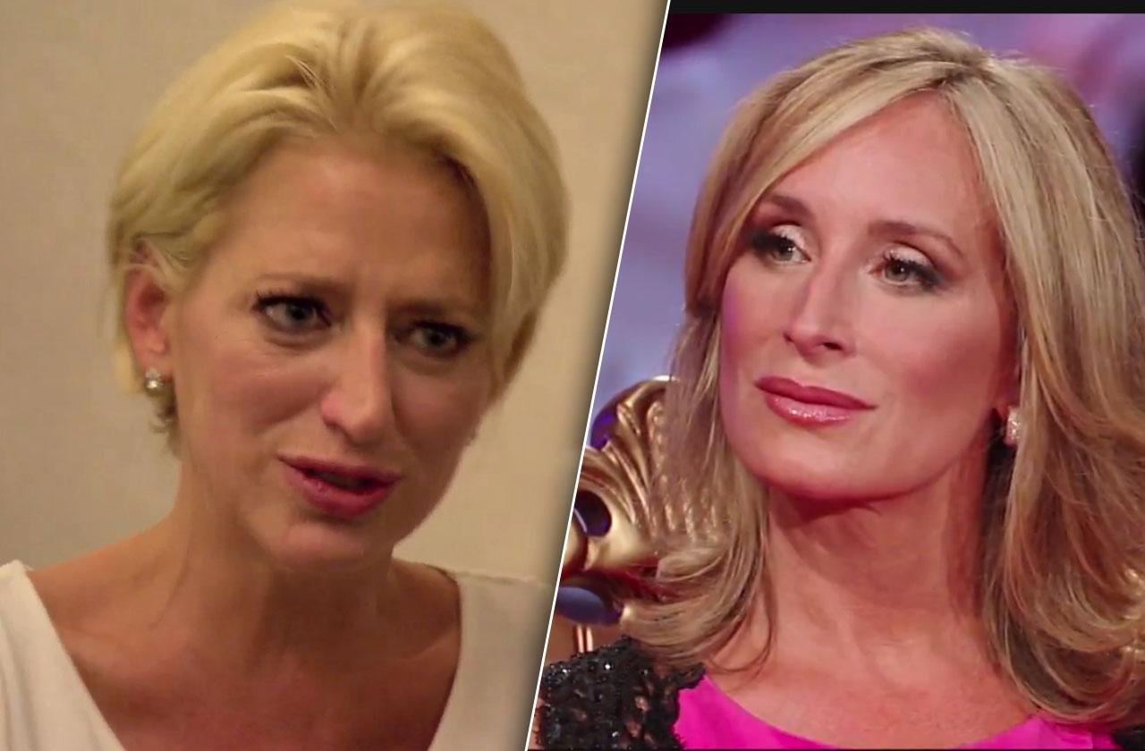 RHONY Dorinda Medley Slams Sonja Morgan Over Cheating On Husband