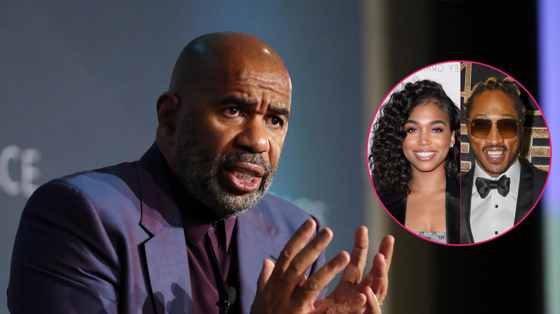 Steve Harvey Desperate To End His Stepdaughter's Budding Romance With The Rapper Future!