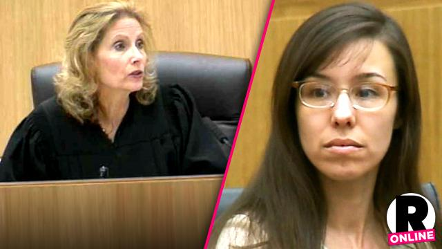 //jodi arias judge sherry stephens wrong kick out media public death penalty trial pp sl