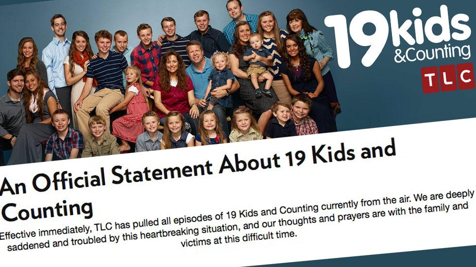 // kids and counting canceled josh duggar molestation scandal