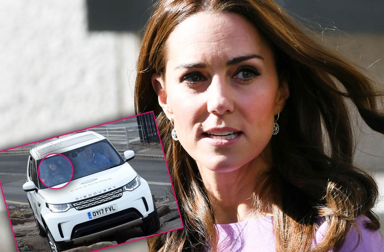 Kate Middleton Speeding