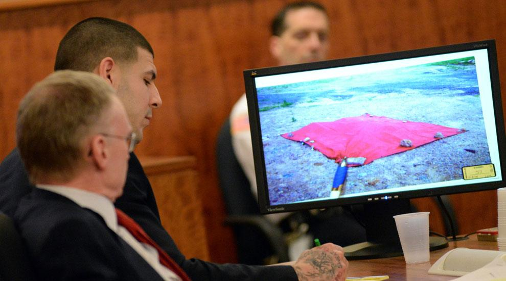 Aaron Hernandez Murder Trial Cell Phone Disabled