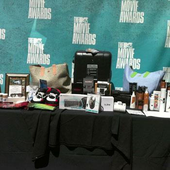 //mtv movie awards gift bag