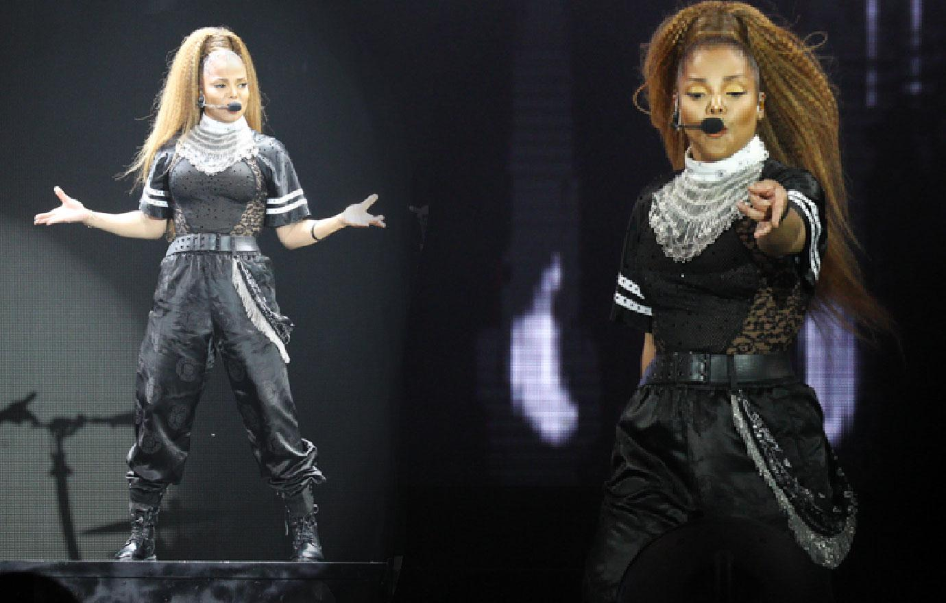 Janet Jackson Makes Stage Comeback After Dad Joe's Death