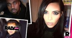 Kim Kardashian Posts Photoshopped North West Instragram
