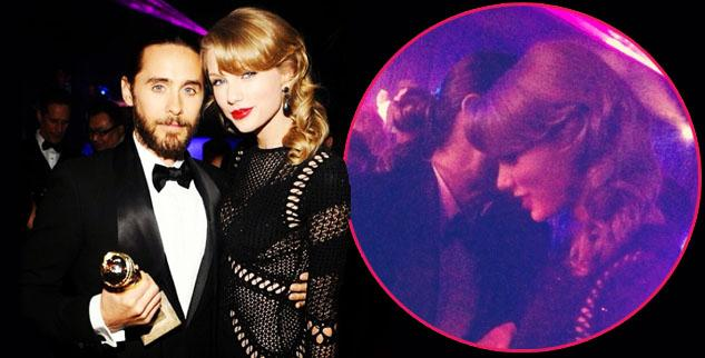 Taylor Swift Spotted Getting Cozy With Jared Leto At Globes After Party