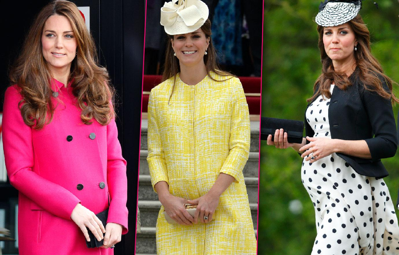 Inside Kate Middleton Maternity Wardrobe