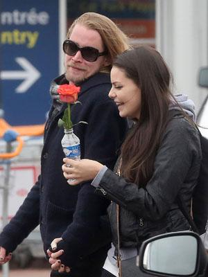 Macaulay Culkin Girlfriend in the City of Love