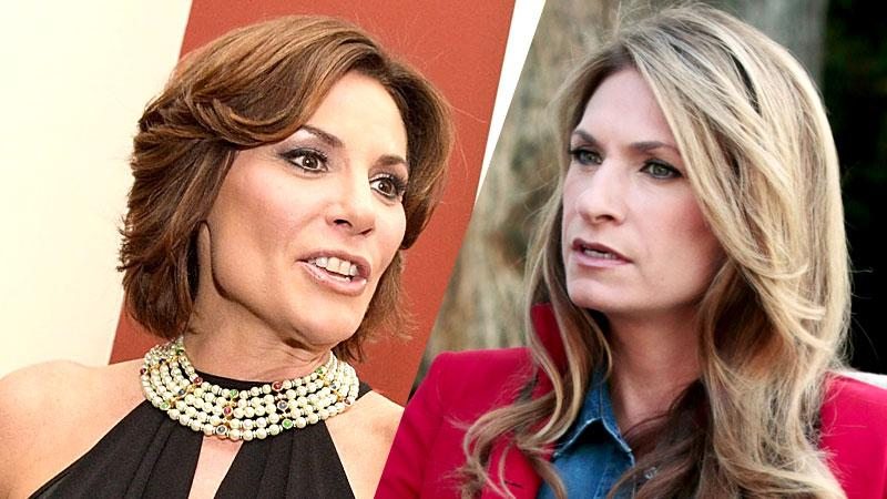 Countess LuAnn de Lesseps and Heather Thomson
