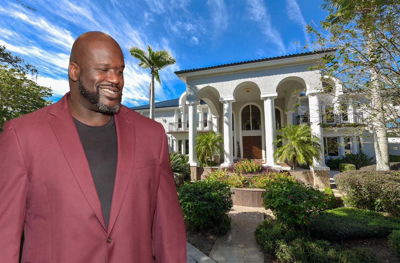 Shaquille O'Neal Selling Florida Compound For $22 Million