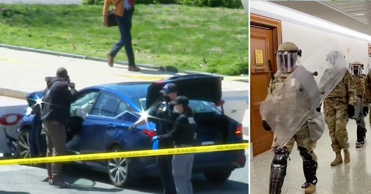 capitol hill lockdown one person shot gunfire rf
