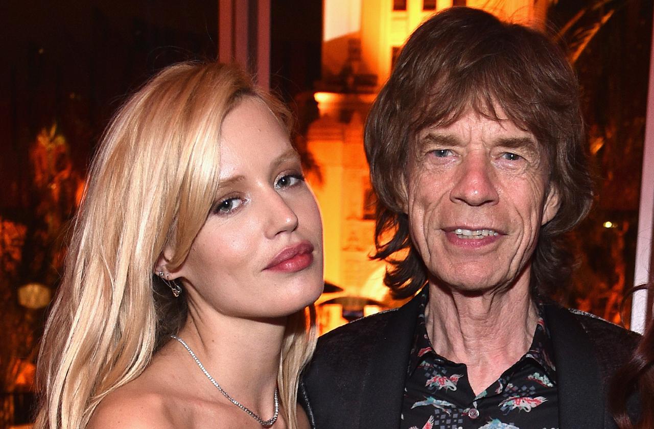 Mick Jagger's Daughter Georgia Dating A Violent Man