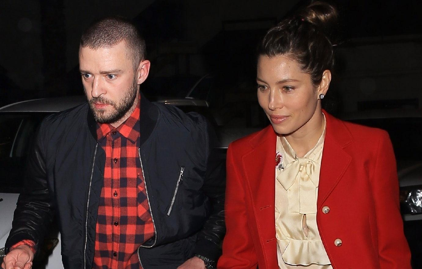 Justin Timberlake And Jessica Biel Visit