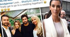 Brody Jenner Disses Kim Kardashian On Instagram