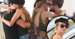 Diane Kruger Joshua Jackson Kissing Hugging Breakup