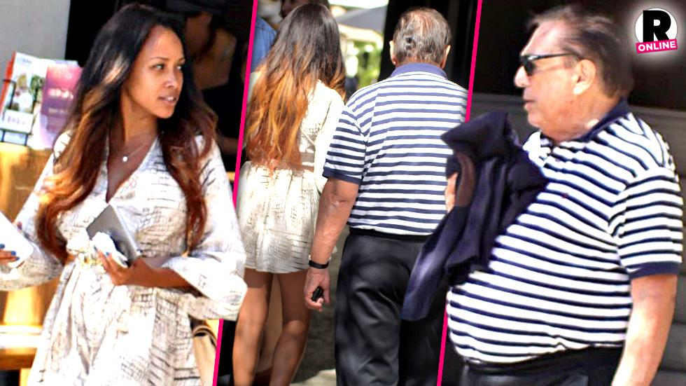 //donald sterling touchy feely new woman lunch los angeles