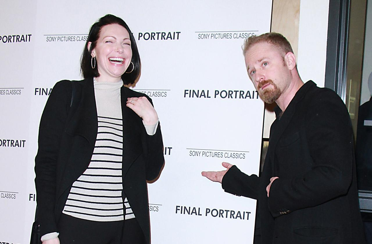 //laura prepon and ben foster get married pp
