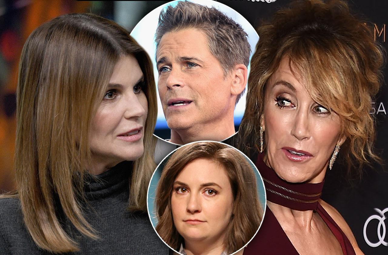 Celebrities React Lori Loughlin Felicity Huffman College Admission Scandal
