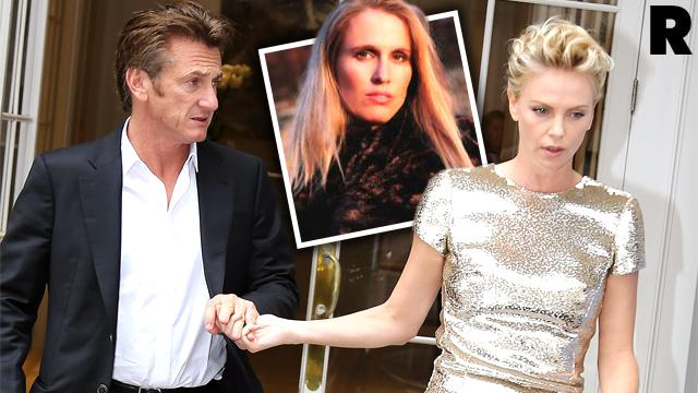 Sean Penn Flirts Reads Poetry Charlize Theron Double