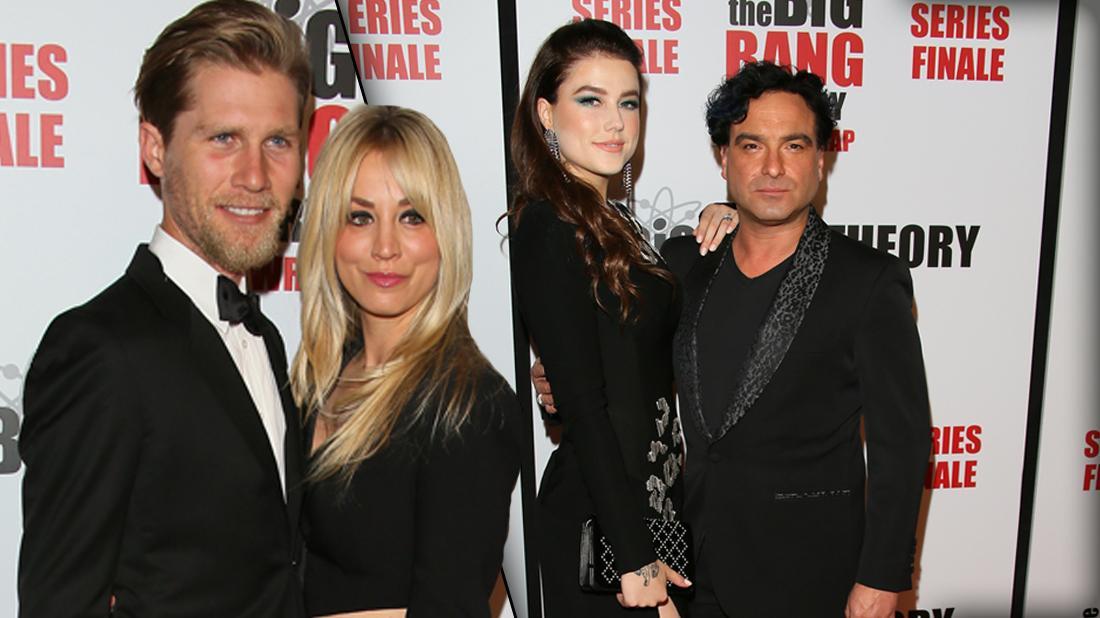Kaley Cuoco & Husband At The Big Bang Theory Series Finale Party
