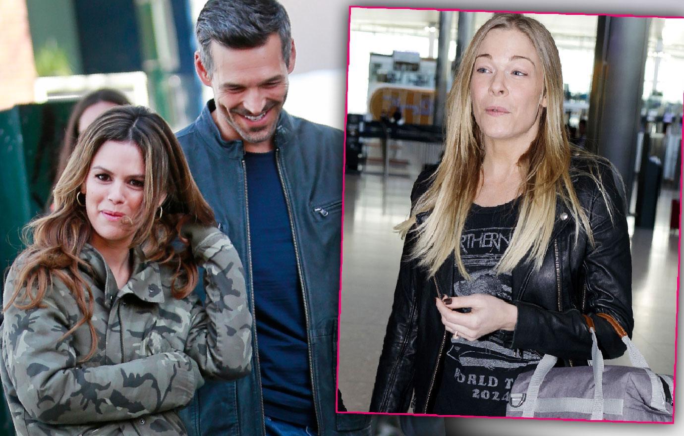 LeAnn Rimes Husband Eddie Cibrian Is Flirting With Rachel Bilson