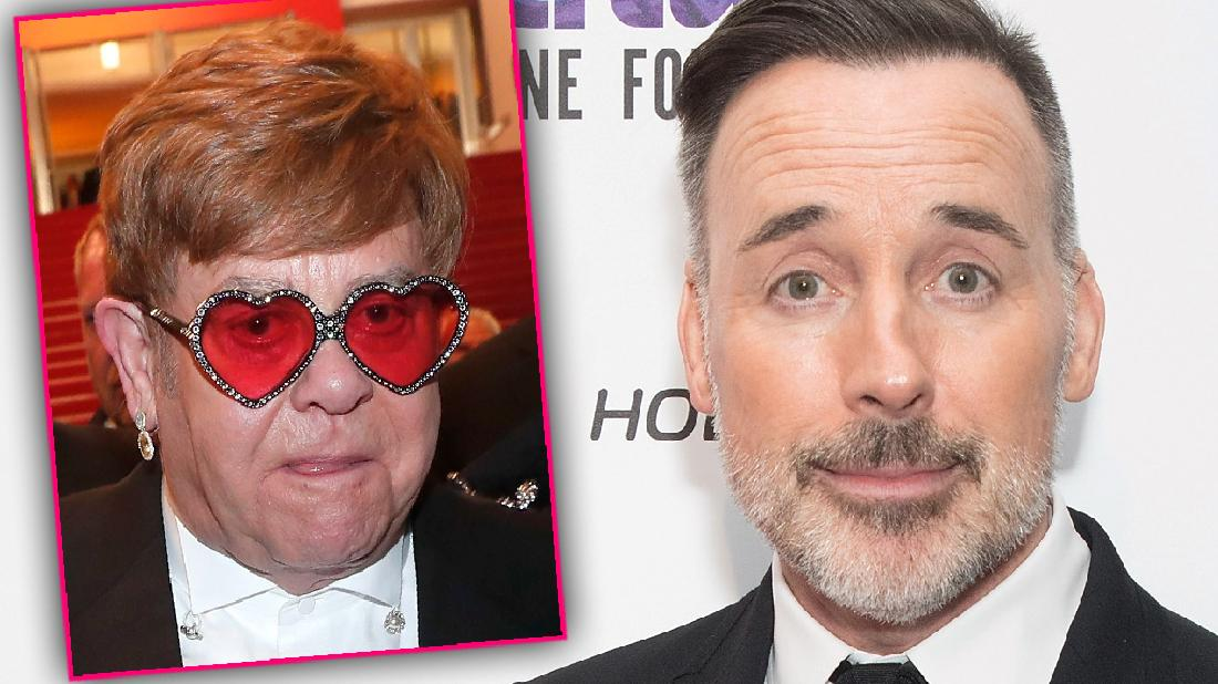 David Furnish Sought Therapy To Cope With Elton John's Fame
