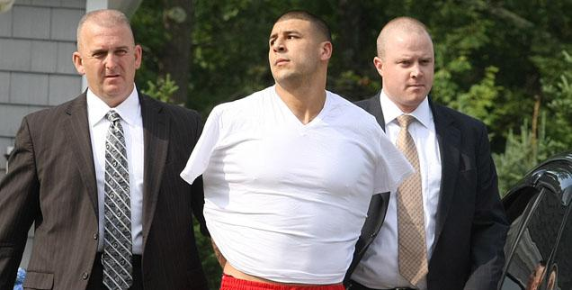 //aaron hernandez wide getty
