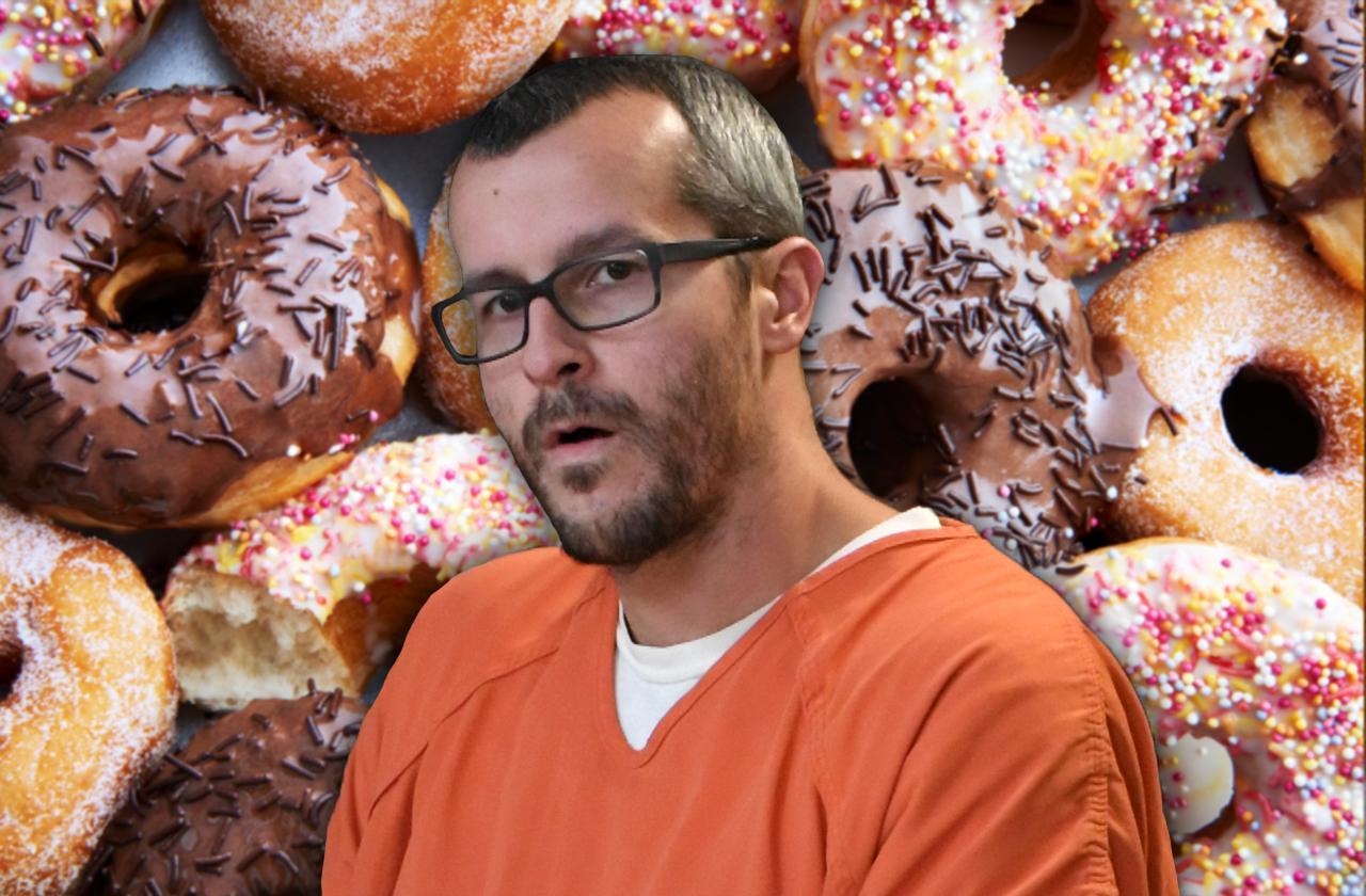 Chris Watts Brownies Donuts Prison