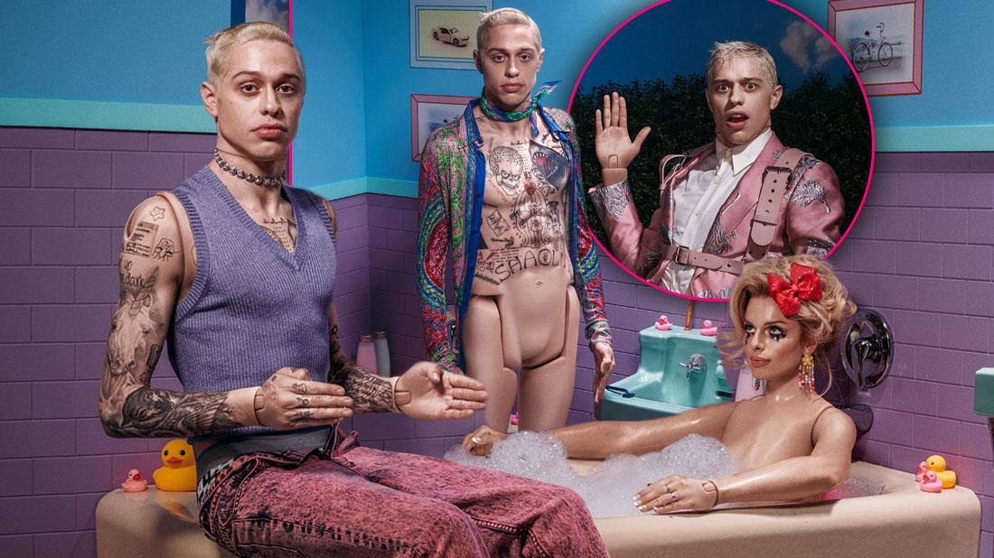 Pete Davidson Poses Naked For Paper Magazine Cover: See Photos