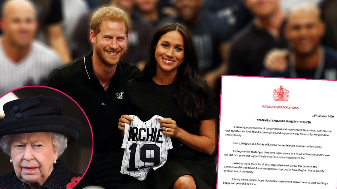 Meghan And Harry No Longer Part Of Royal Family