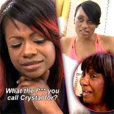 //kandi burress mama joyce voicemail fight heifer rhoa sq