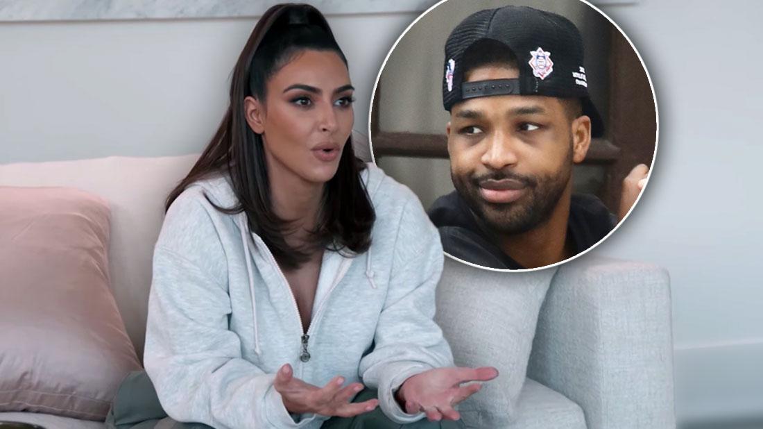 'KUWTK': Kim Kardashian Denies She Booed Tristan Thompson At Game