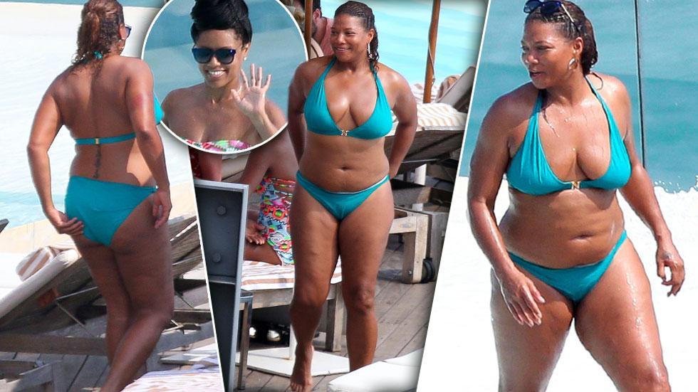 Queen Latifah & Eboni Nichols Brazilian Vacation