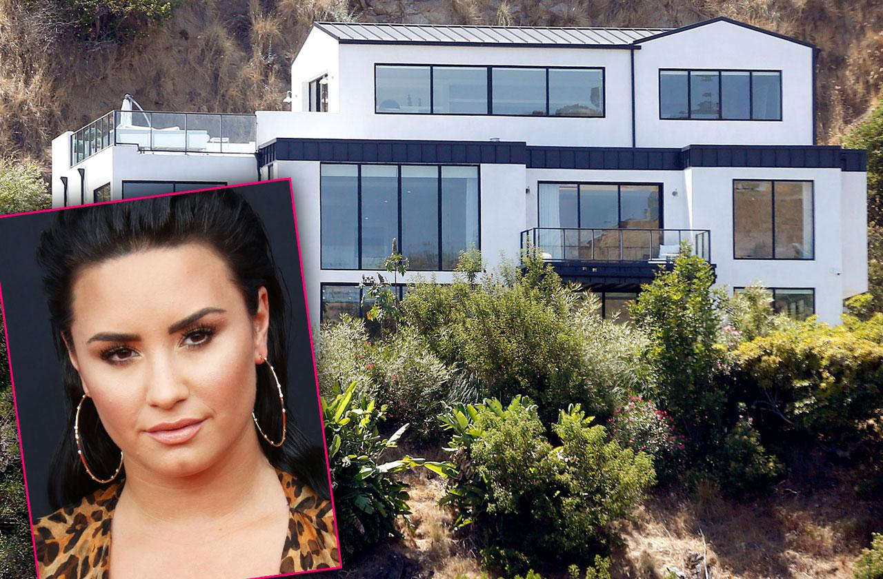 //demi lovato hollywood hills home overdose pp