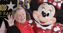 Russi Taylor Smiles and Waves with Minnie Mouse