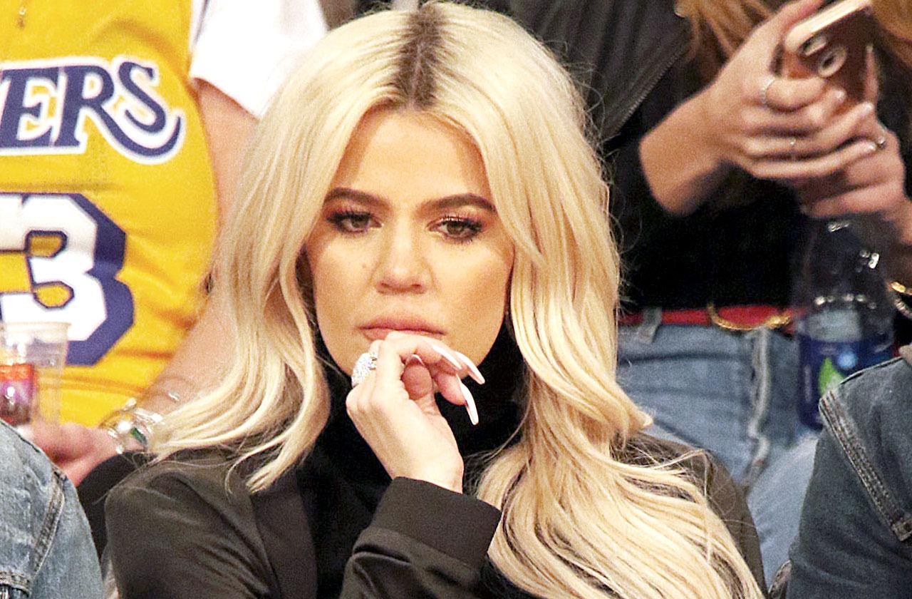 Khloe Kardashian Breakup Tristan Thompson Instagram hints