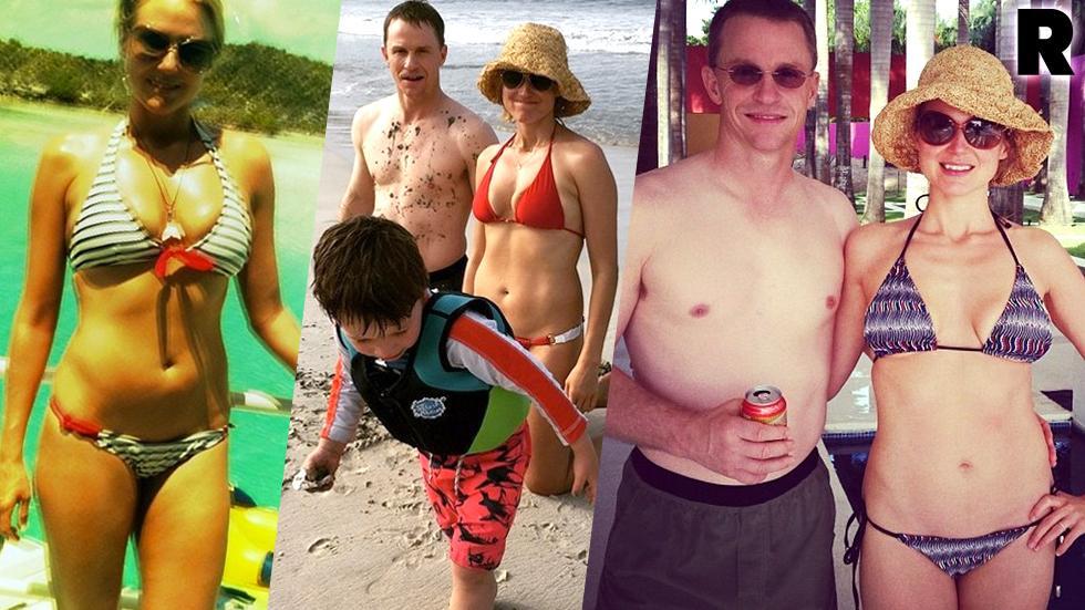 Jewel Bikini Vacation Ty Murray