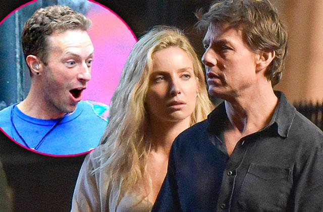 Chris Martin Jealous Girlfriend Annabelle Wallis 'Mummy' Co-Star Tom Cruise