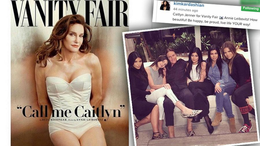 //Caitlyn jenner reaction kim kardashian khloe kardashian family pp