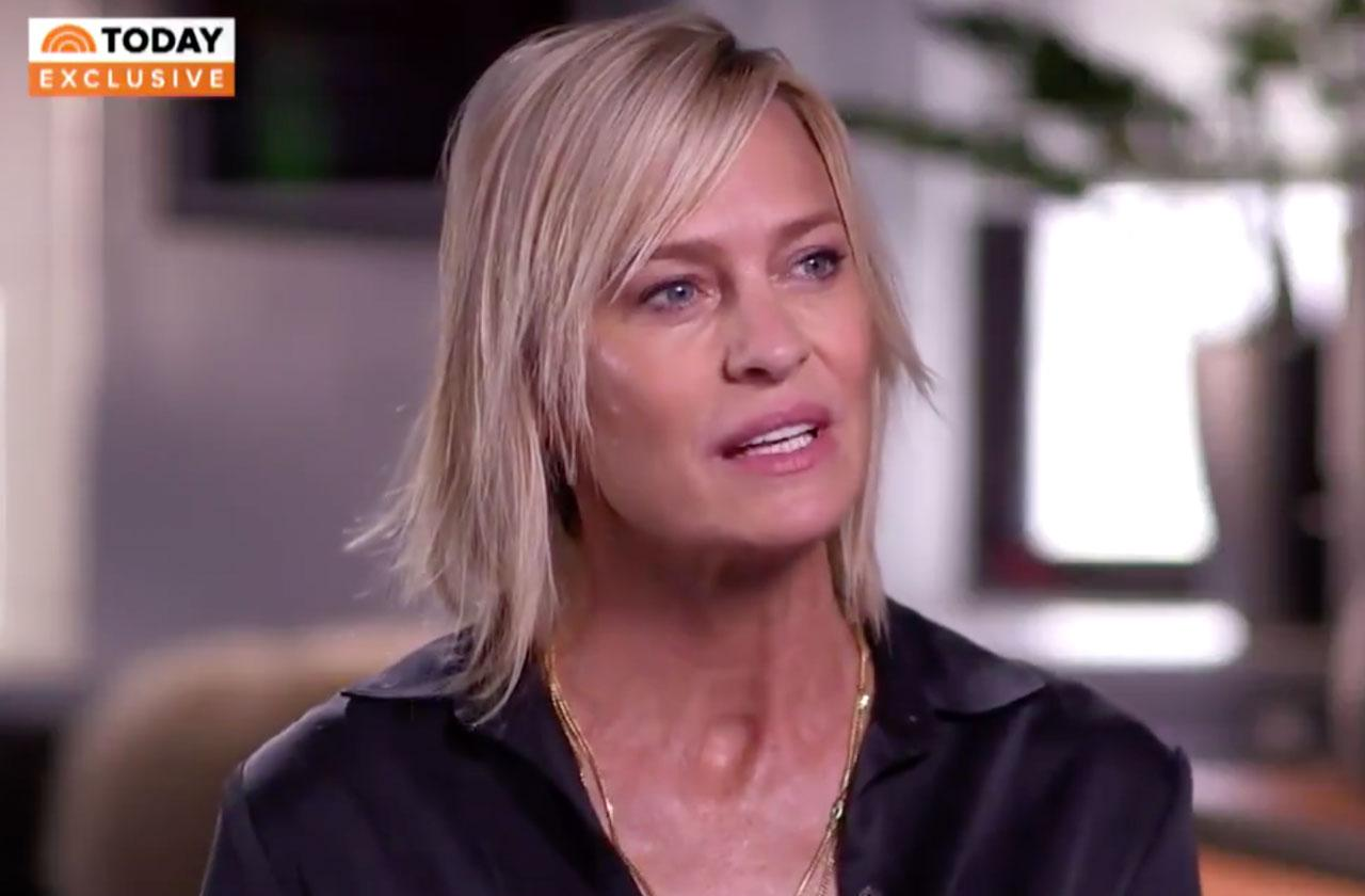Robin Wright Kevin Spacey Sex Assault Interview