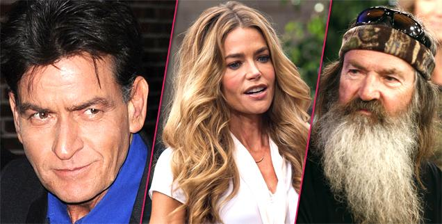 //charlie sheen slams denise richards phil robertson beastiality wide